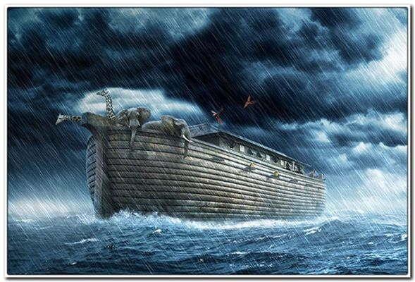 потоп был