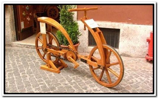 велосипед ДаВинчи