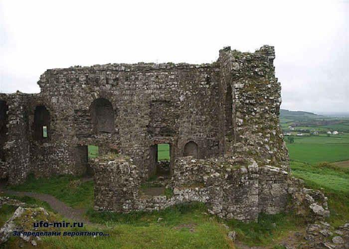 развалины в ирландии