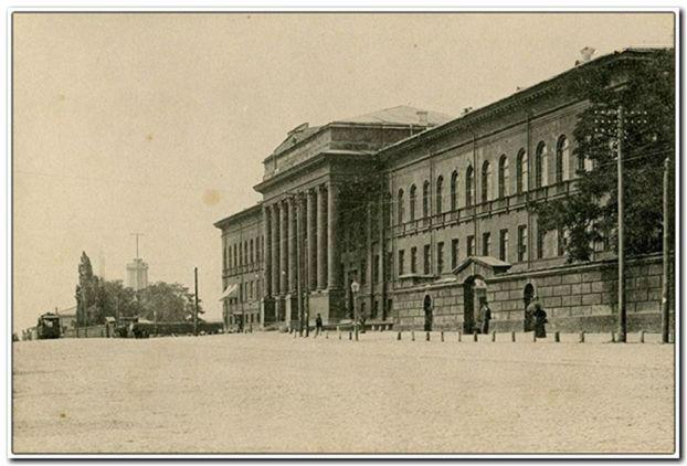Киевский университет святого Владимира, где работал Я.Н. Жук