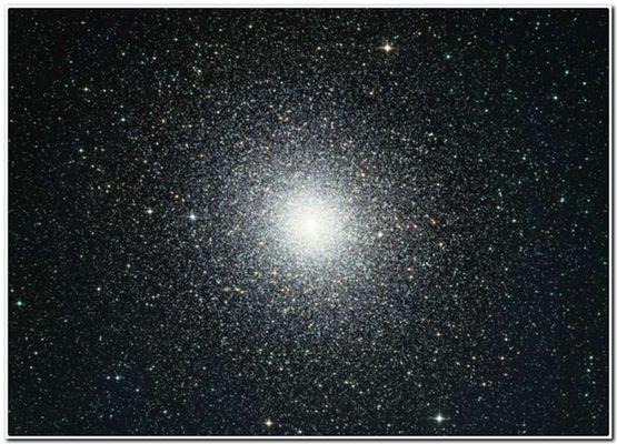 шаровое скопления созвездия Тукана