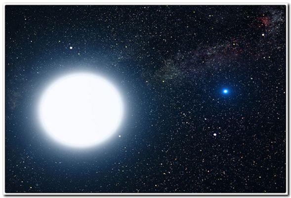 маленькая звезда и есть белый карлик
