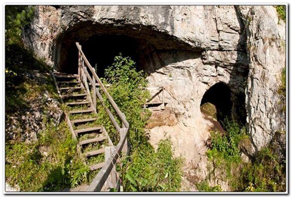 загадочные пещеры алтая
