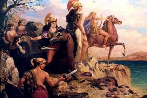 амазонки - женщины воительницы