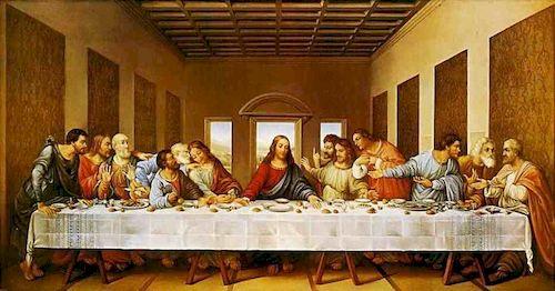 тайная вечеря Леонардо