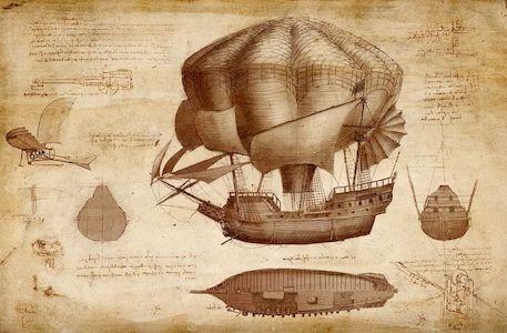 попытка леонардо изобрести парашют