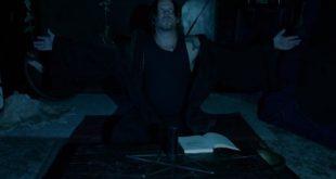 Маг проводит ритуал